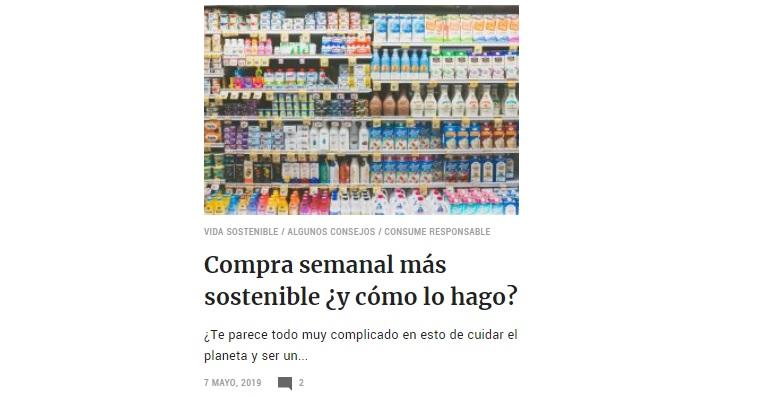 Compra Semanal Sostenible