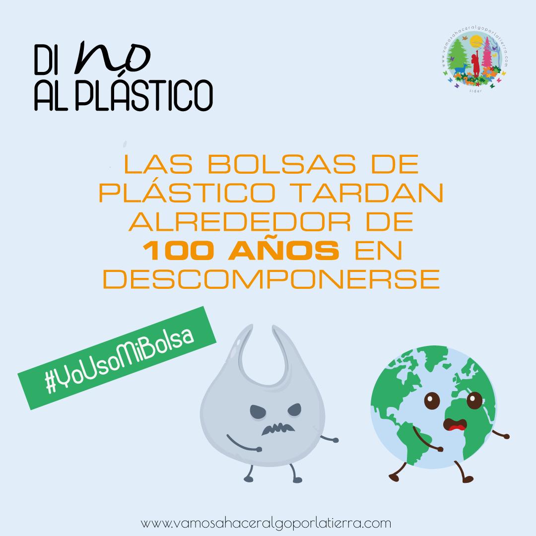 Contaminación por plástico: di no a las bolsas