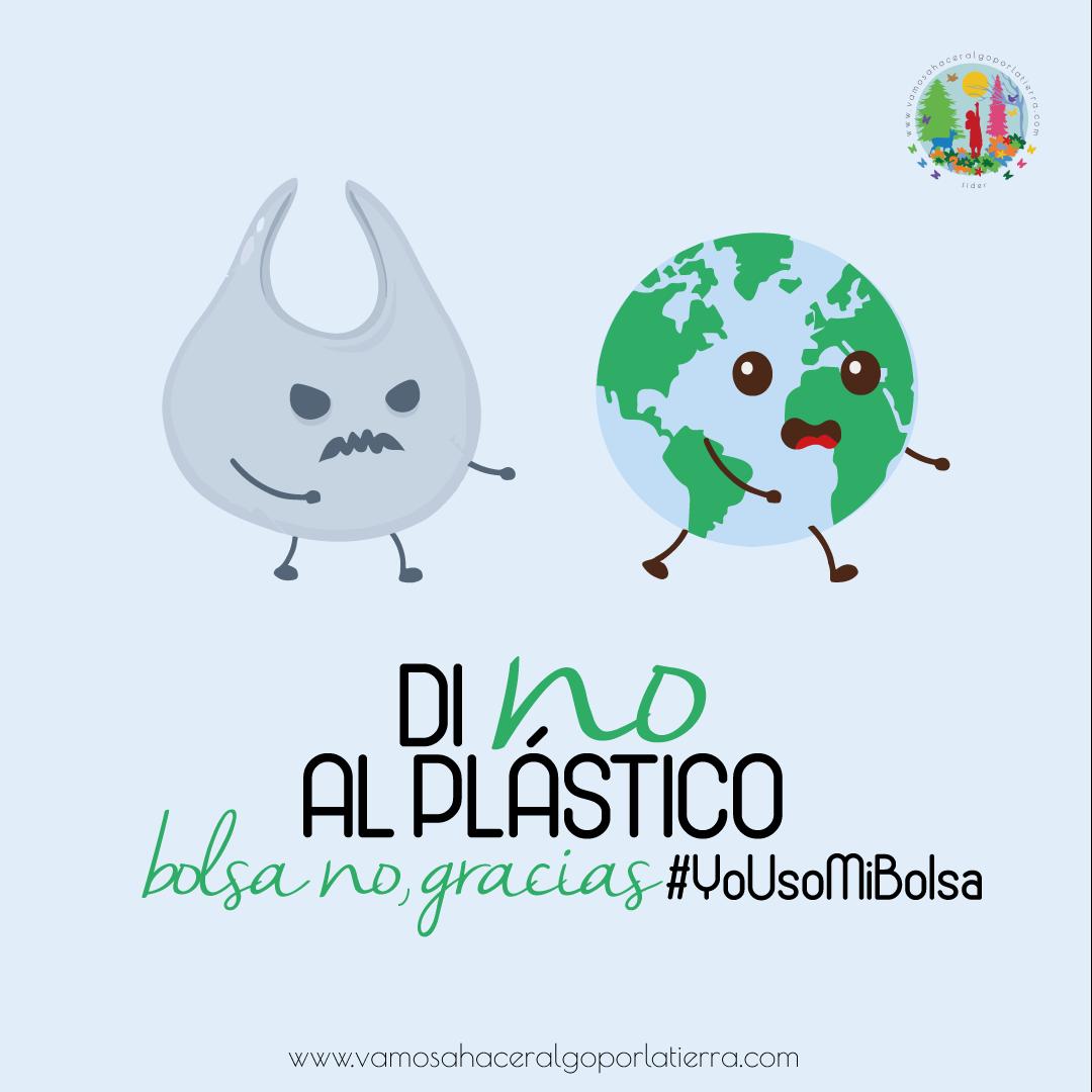 Contaminación por plástico: yo uso mi bolsa